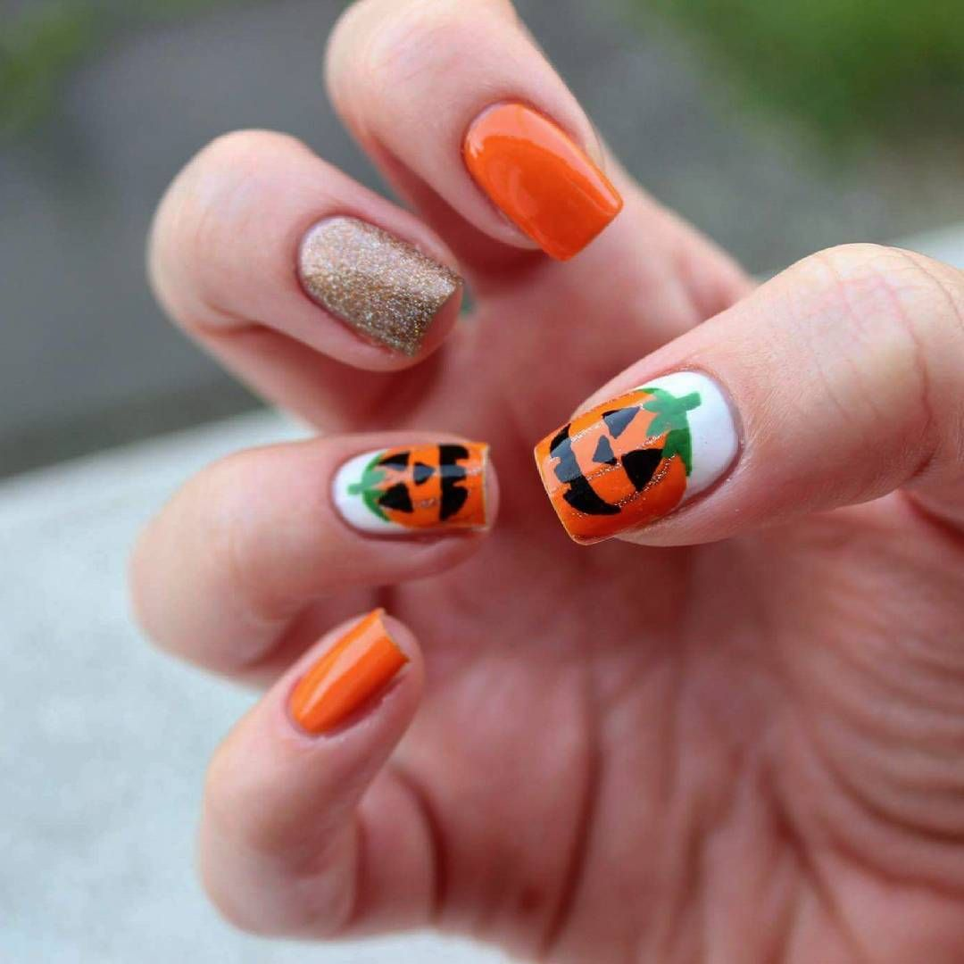 89 Halloween Nail Art Ideas That Are Better Than Your ...
