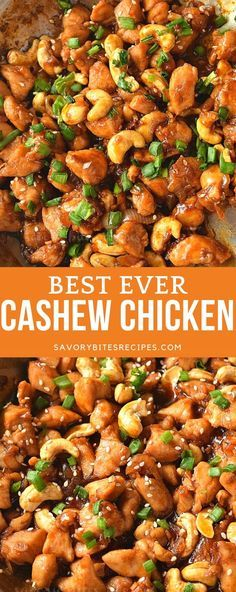 Photo of chicken and cashew