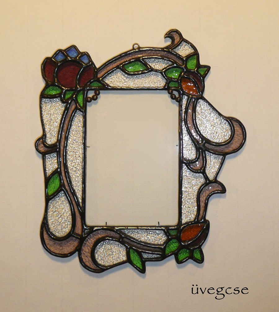 üvegcse Design Unique Stained Gl Mirrors Frames