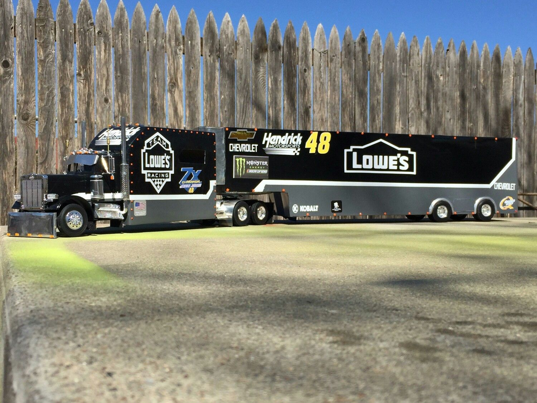 Hauler Jimmie Johnson Nascar Trucks Model Truck Kits Big Trucks