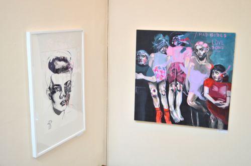FxxK Love - Marcelina Amelia at Marburae Art Gallery www.artinmacclesfield.co.uk