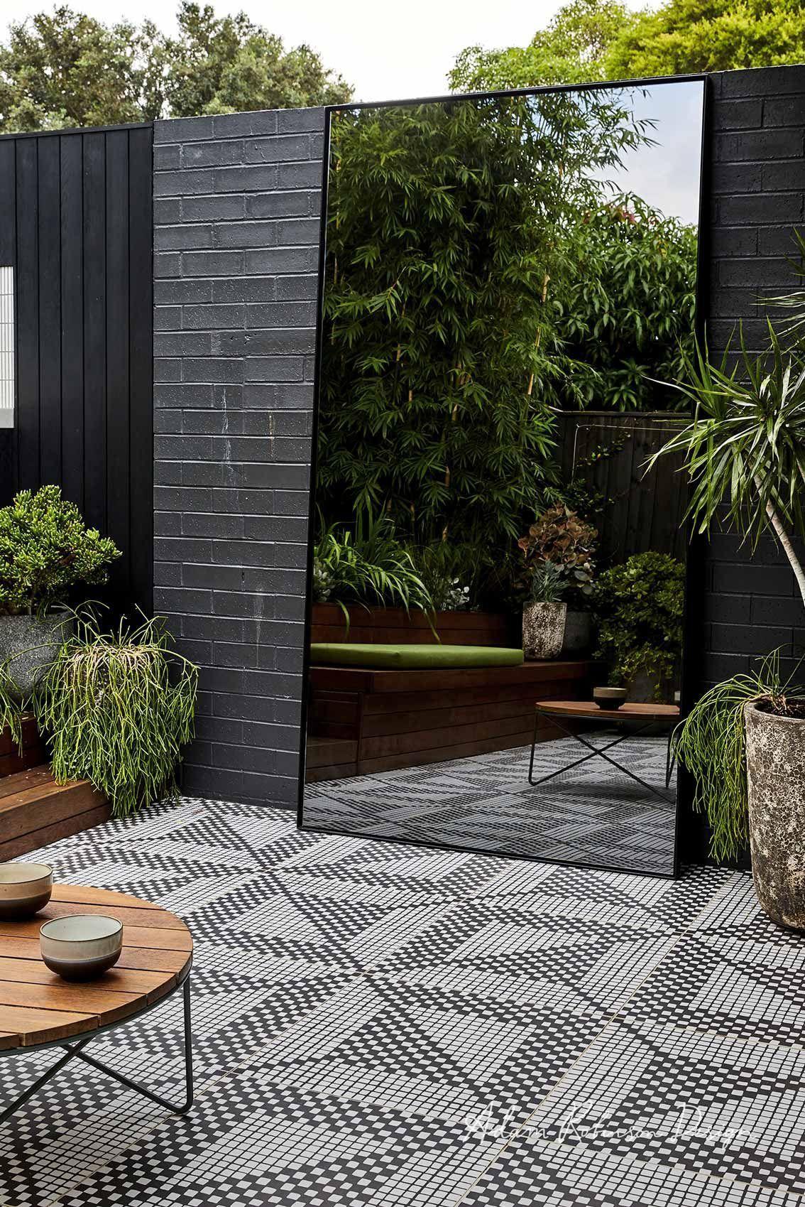 Landscape Design Dulwich Hill Adam Robinson Design In 2020 Urban Garden Design Outdoor Mirror Garden Mirrors