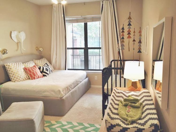 Pin by cassidy garmon on apartment | Nursery guest room ...