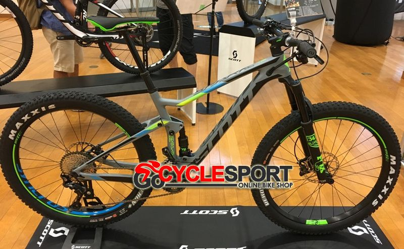 Buy 2017 Scott Spark 710 Plus Mountain Bike From Gocyclesport Is
