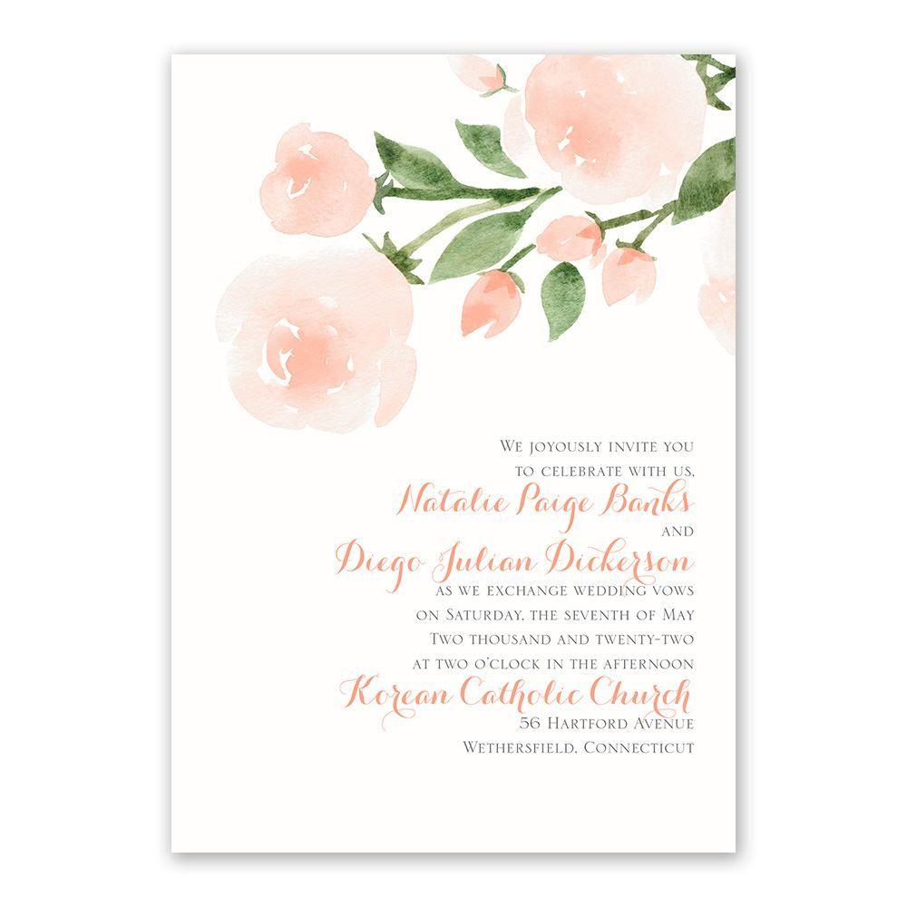 Wedding Venues Near Me Cheap: Invitation With Free Response Postcard