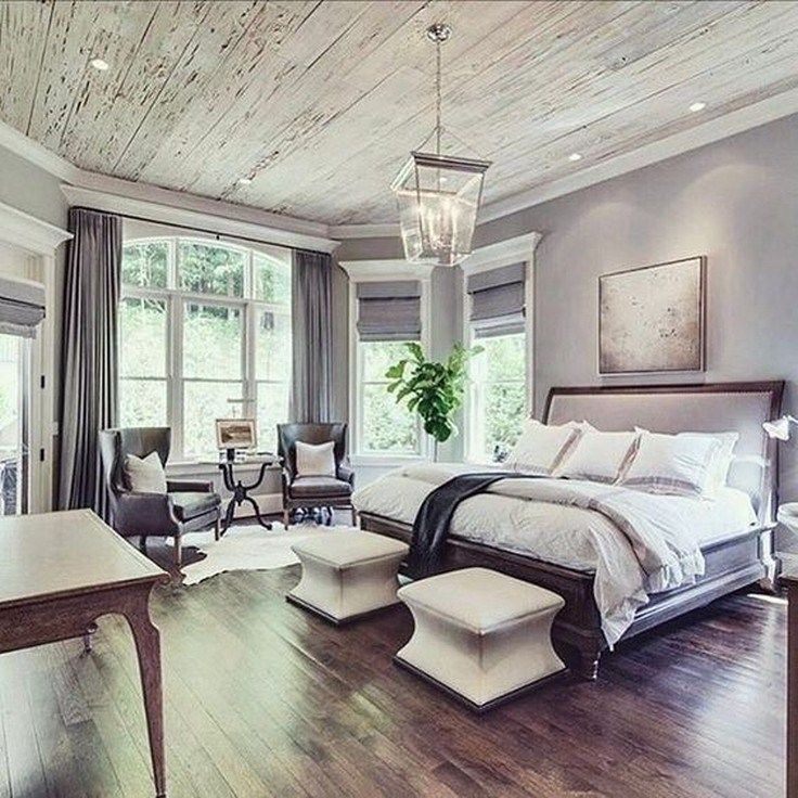 Beautiful Bedroom Sitting Areas: 42 Farmhouse Rustic Master Bedroom Ideas