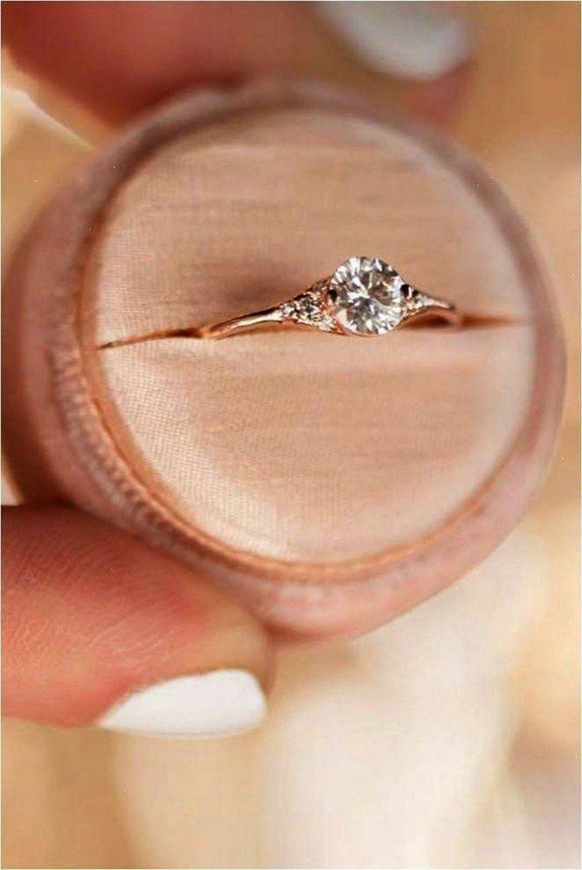 49 Simple But Gorgeous Engagement Ring Ideas 6 Elegant
