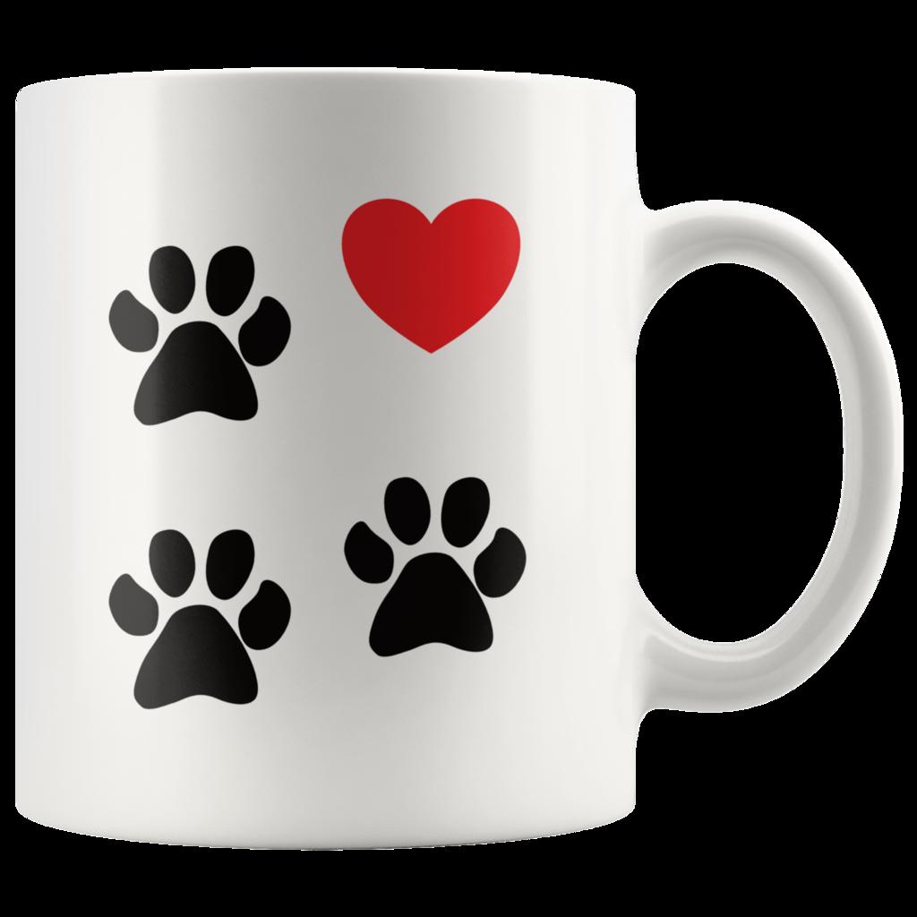 f8e1ba9e3fd Tripod Coffee Mug 3-Legged Dog Love Paws Heart | Mugshot Monday | 3 ...