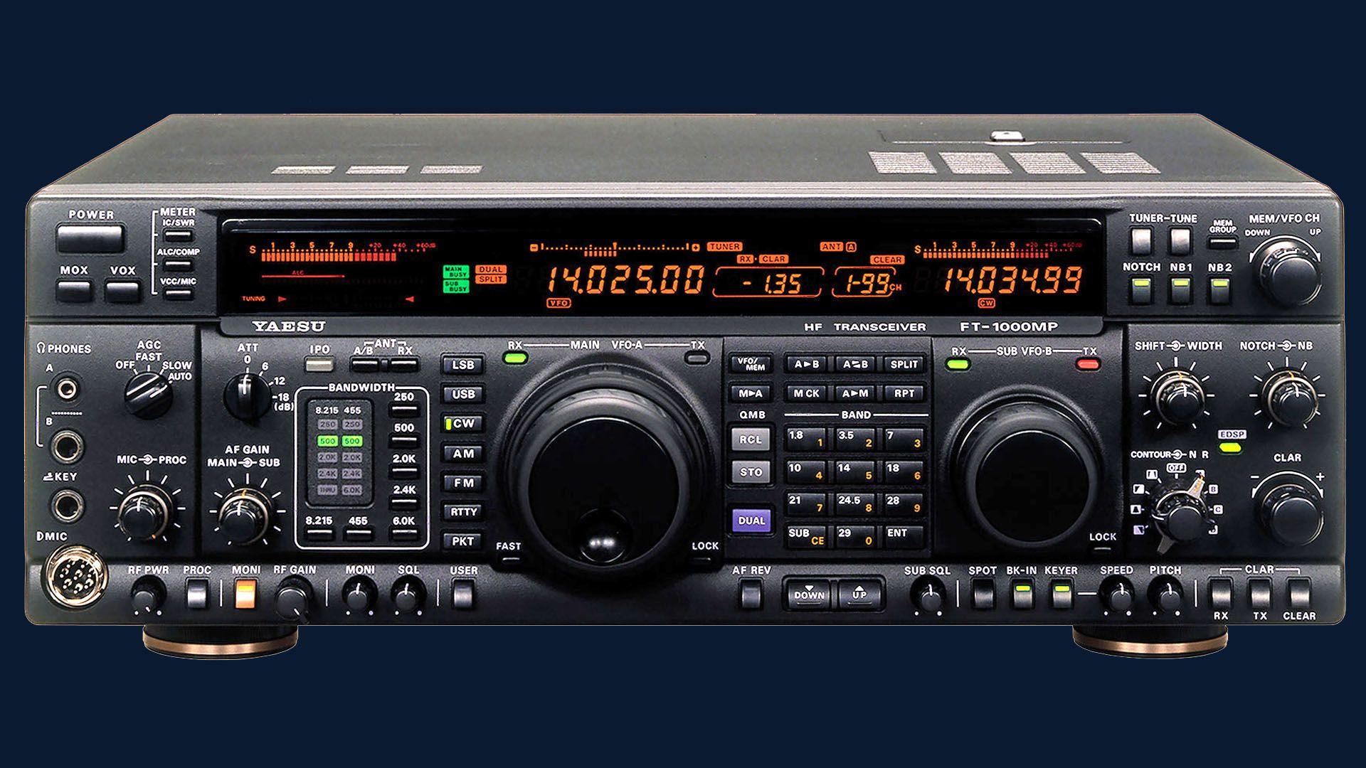 Yaesu Ft 1000mp Ham Radio Yaesu Radio Ham Radio Antenna