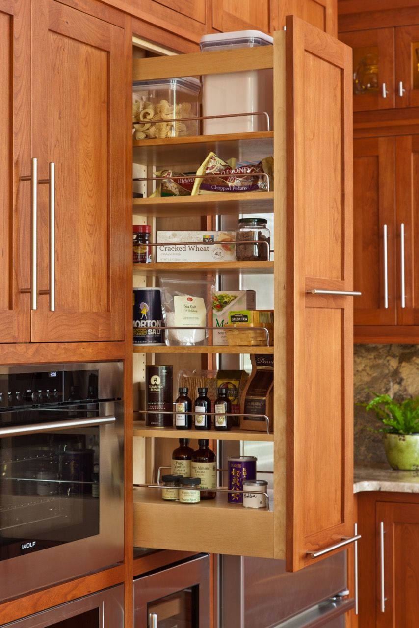 Delicieux Custom Cabinetry By Martin Star. Pull Out Pantry Cabinet.
