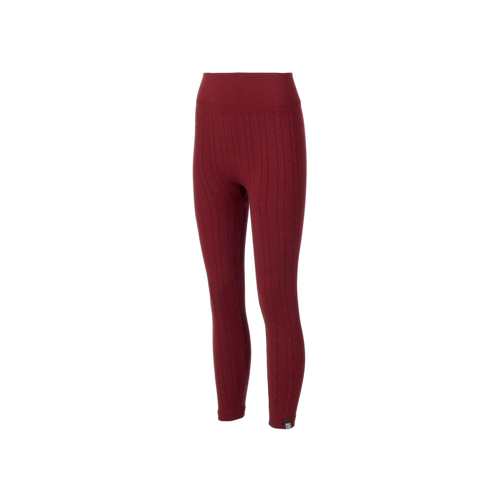 2c7c64673de999 Muk Luks Fleece-Lined Leggings | Products | Leggings, Cable Knit ...