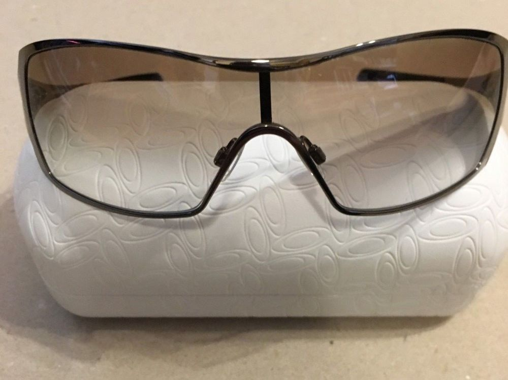 7f603131c322 Oakley Dart Sunglasses Black Gradient Lens Black Chrome Frame  fashion   clothing  shoes  accessories  womensaccessories   sunglassessunglassesaccessories ...