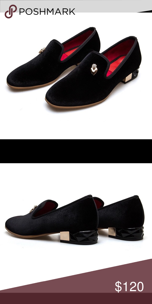 b93774403c0 Women Black Velvet Loafers U.S Sizes 6-11 Nanaloafers Shoes Flats   Loafers