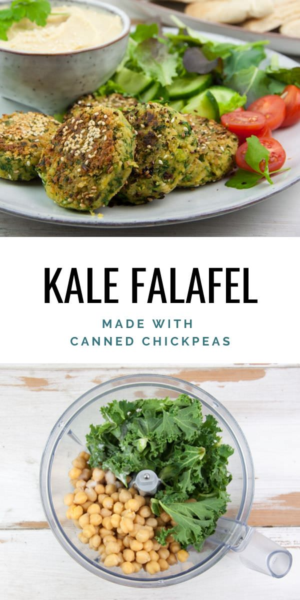 Kale Falafel Recipe | Elephantastic Vegan