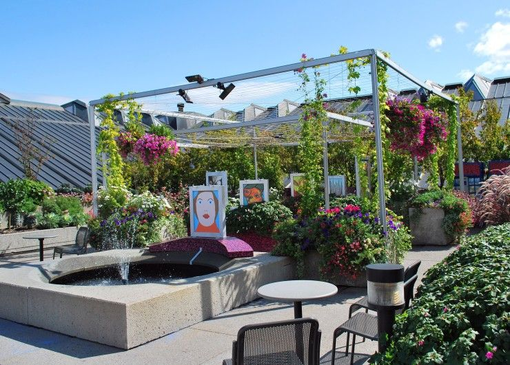 31 Pictures Roof Garden Design Ideas Videos 10113 Fancy Garden Ideas Roof Garden Design Modern Garden Rooftop Garden