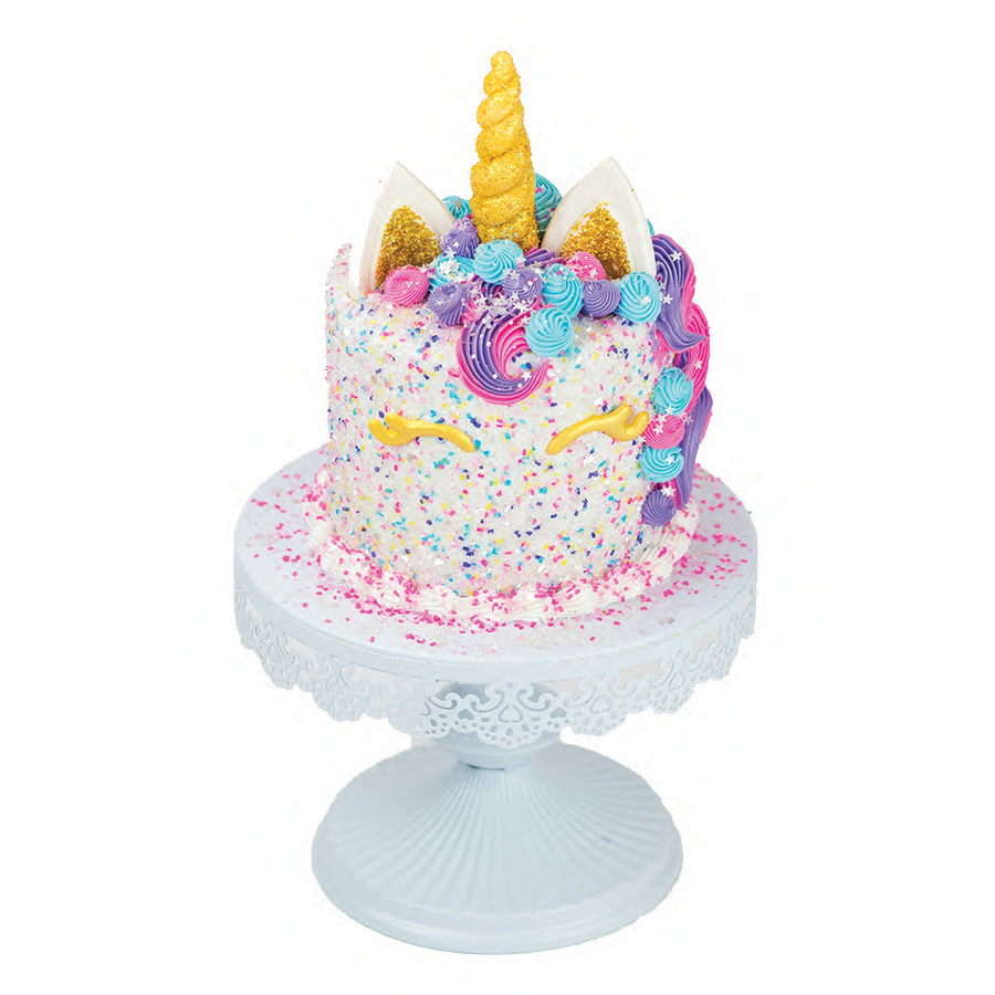 Unicorn Designer Cake Décor | Cake decorating kits, Cake ...