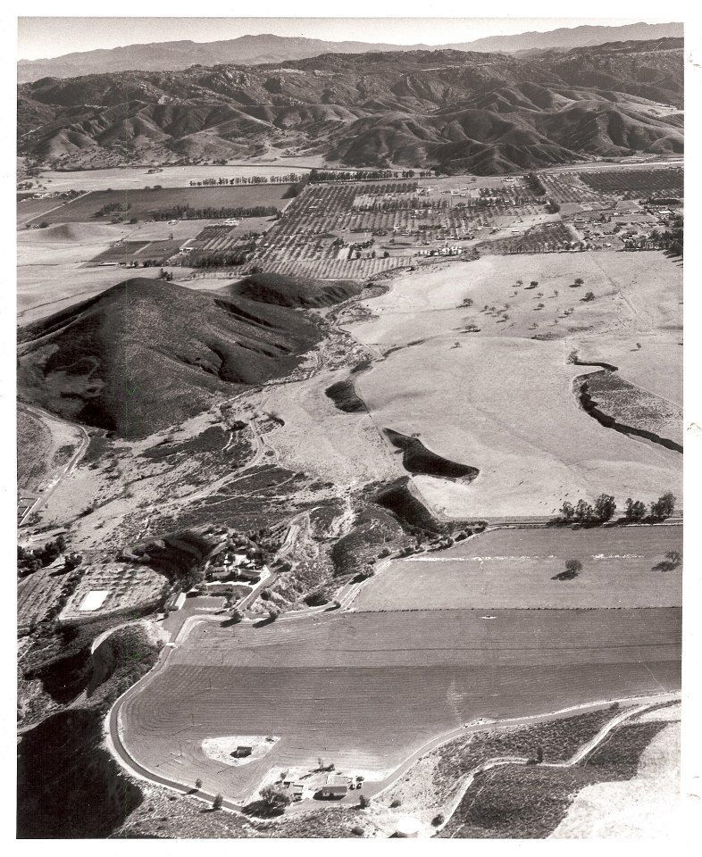 Here's an aerial photo taken on November 7, 1959. It is a