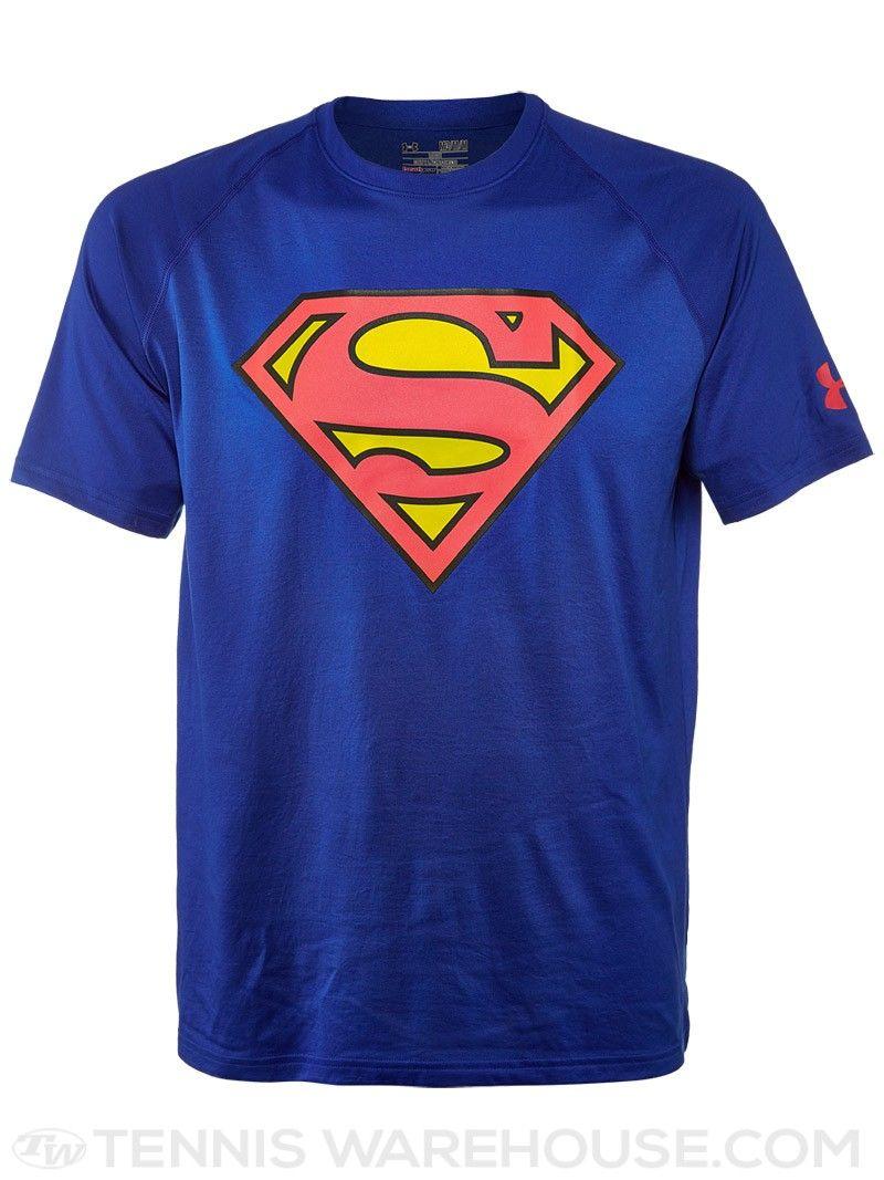 Under Armour Men's Superman Top   Superman t shirt, Superman