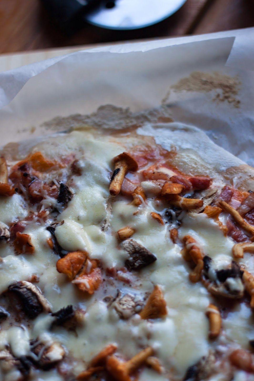 La galerie du régal: PIZZA FORESTIÈRE