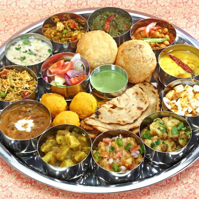 Variety of Cuisines of Rajasthan Marriage Indian food