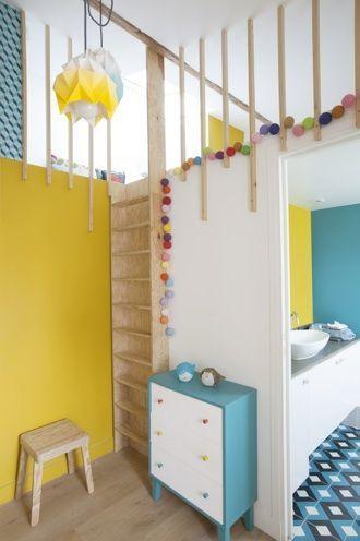 appartement sous les toits paris 11 Chambre d\u0027enfant Pinterest