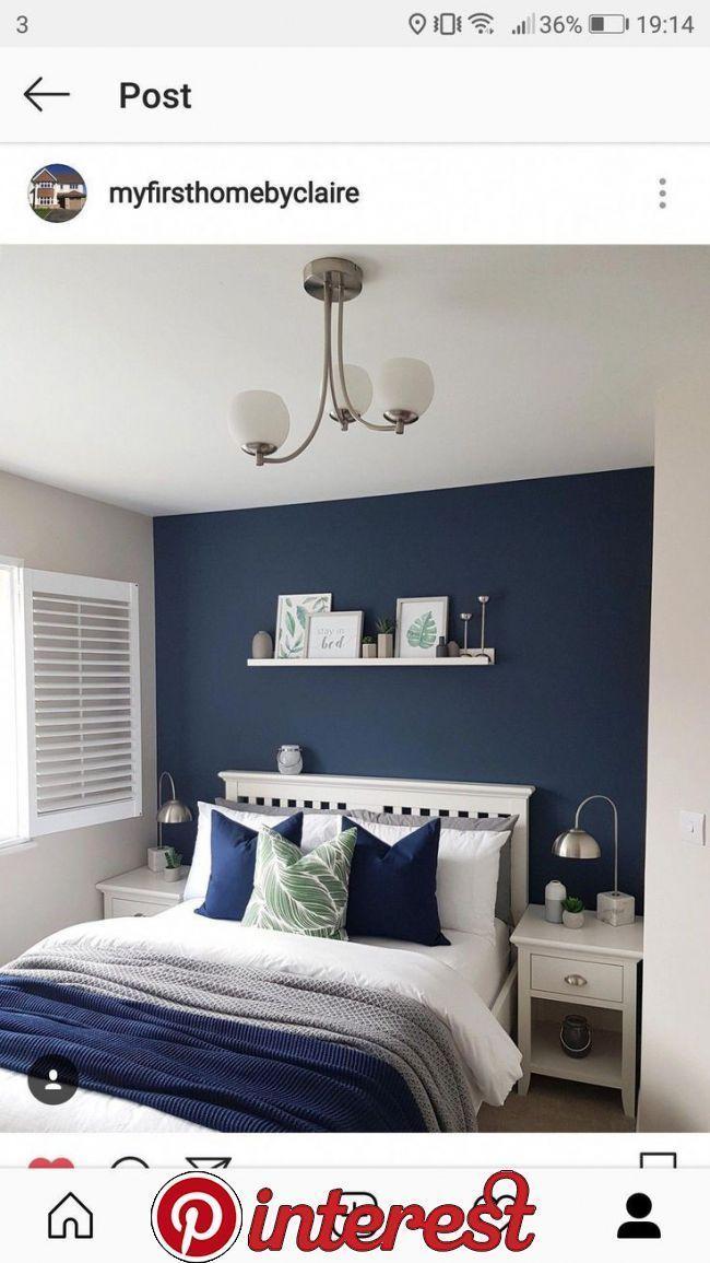 Decoracionhabitacionparej To Blue Bedroom Decoracionhabitacion Creative Ideas Bedroom Interior Blue Bedroom Decor Blue Master Bedroom