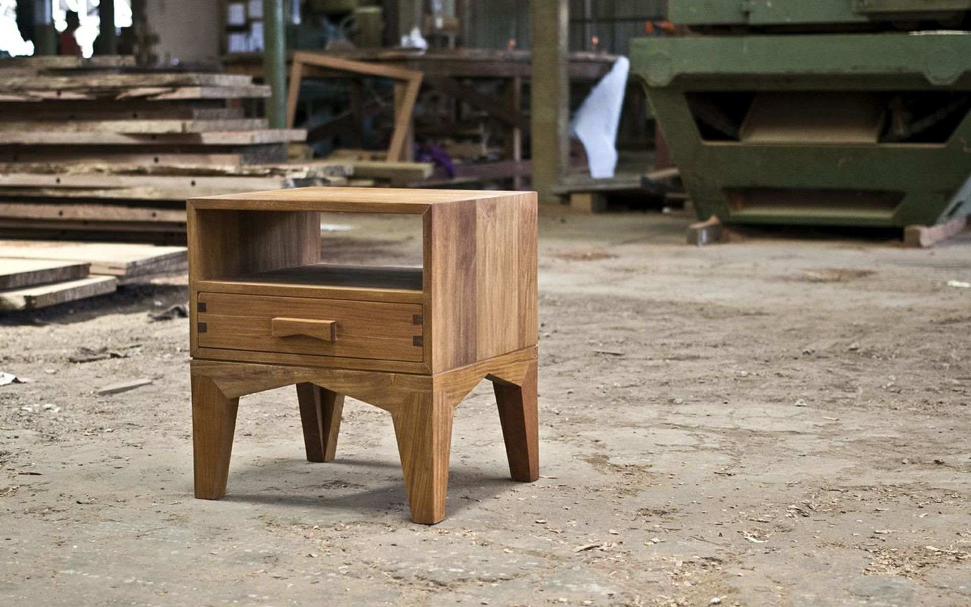 Aaron Poritz Furniture - Bed Side Table 1 featured on Rypen