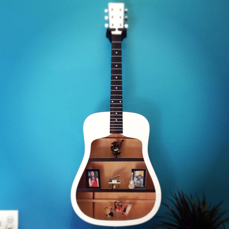 Guitar shelf turn an old guitar into a beautiful shelf unit guitar shelf turn an old guitar into a beautiful shelf unit guitar shelfguitar diyacoustic solutioingenieria Gallery