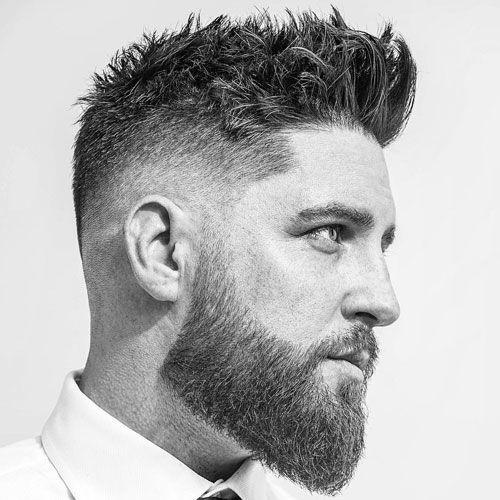 69 Top Mens Fade Haircuts 2018 Style Pinterest Fryzury Męskie