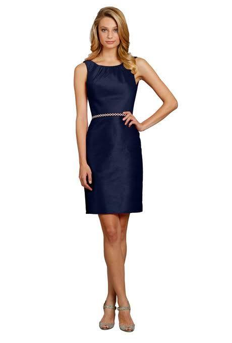 Navy Blue Bridesmaid Dresses | Navy blue bridesmaids, Navy blue and ...