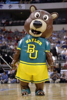 Baylor Inflatable Bear Mascot College Mascots Big 12 Baylor