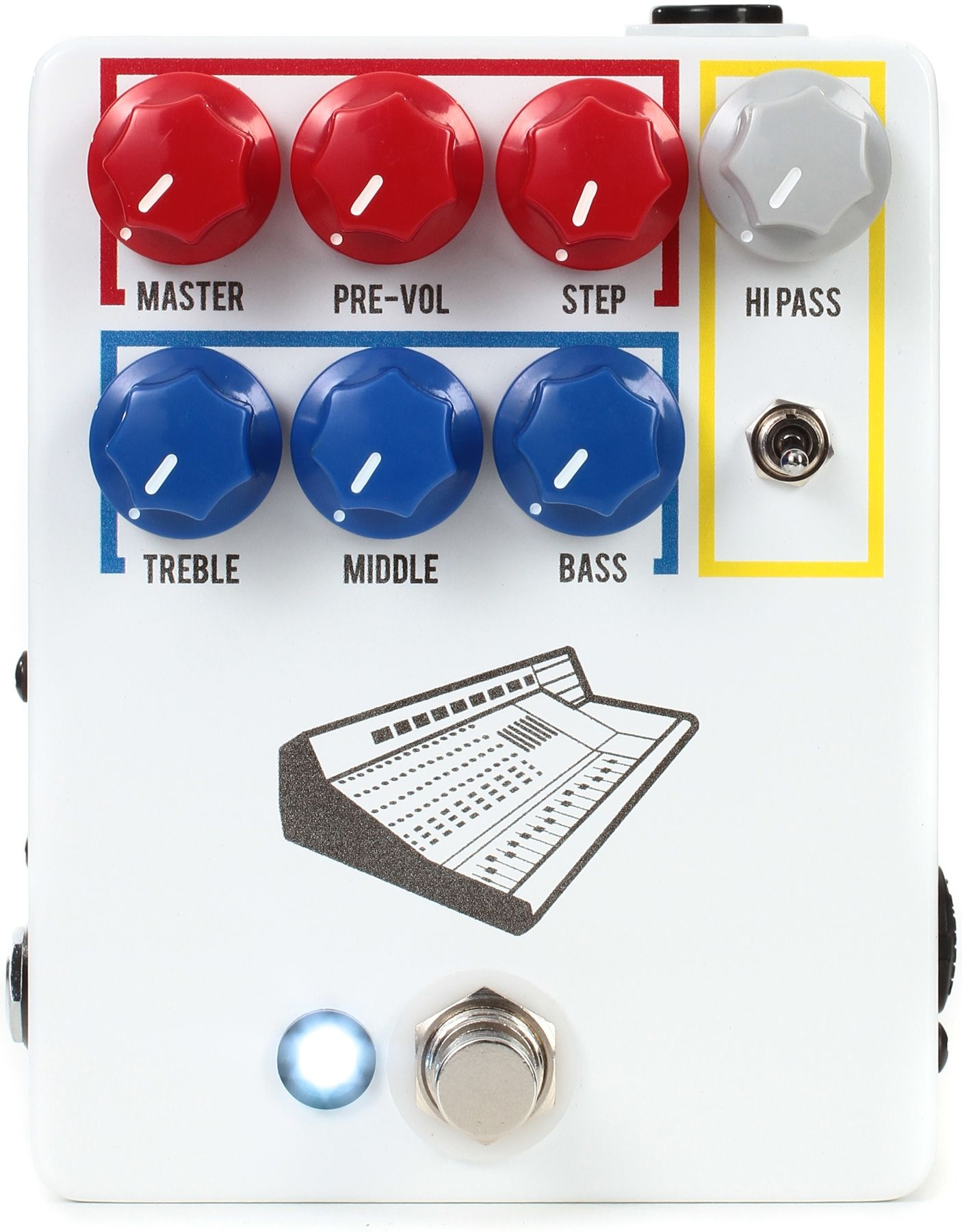 Jhs Colour Box V2 Preamp Pedal Color Box Pedal Color
