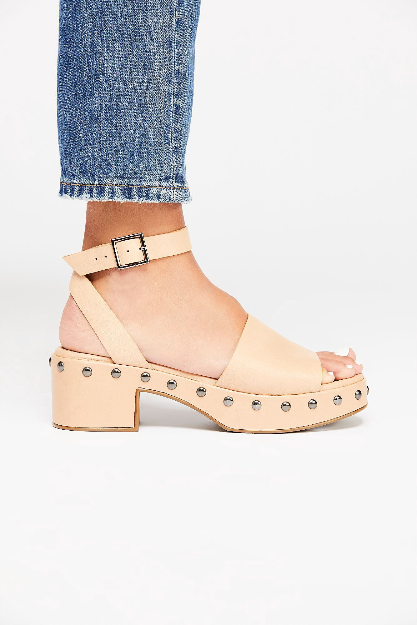 9677d869b91 Free People Stand By Me Platform Sandal - Vacchetta Leather 7.5