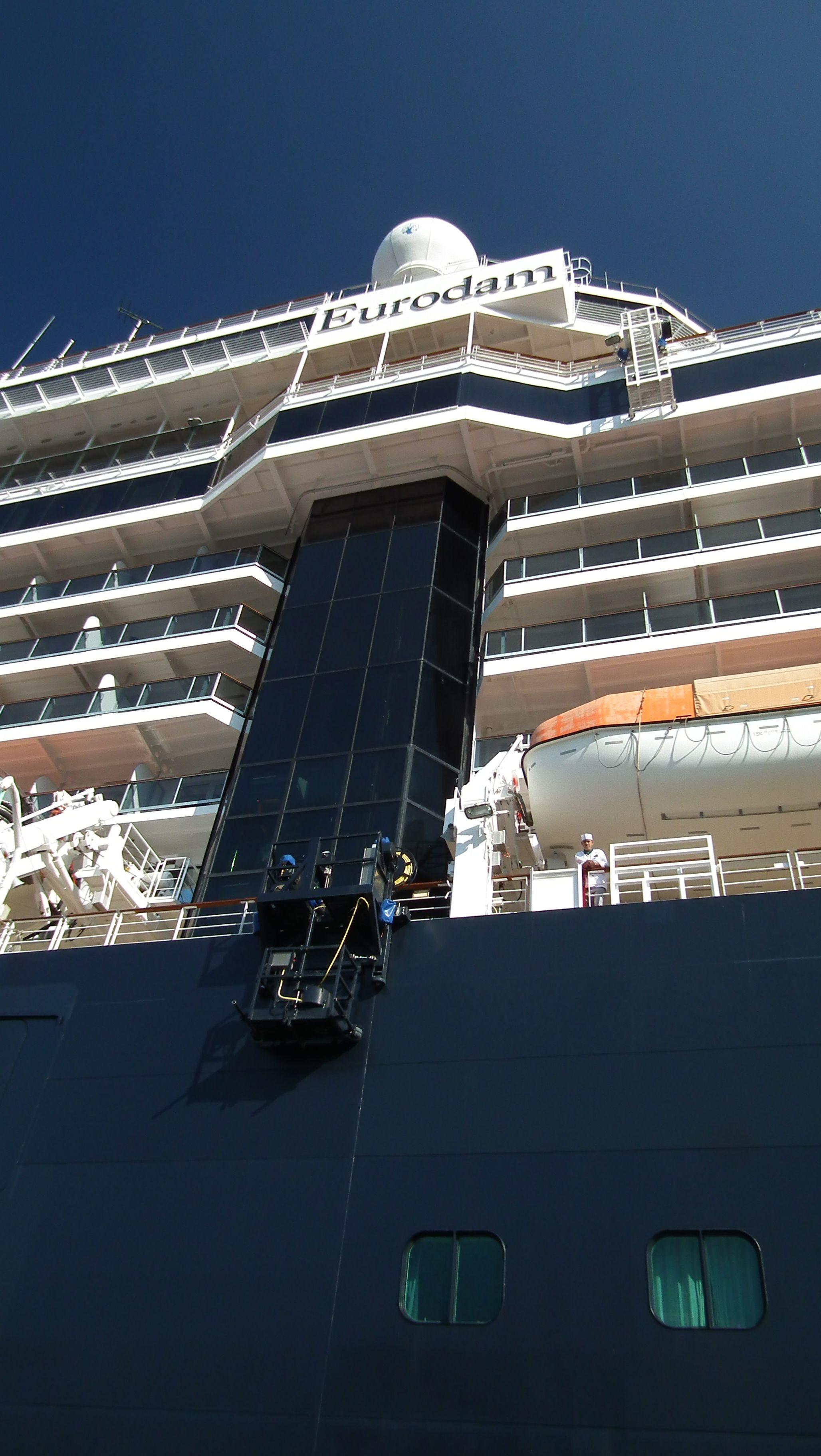 Eurodam Docked Bergen Norway July 2013 @Mel Cloninger