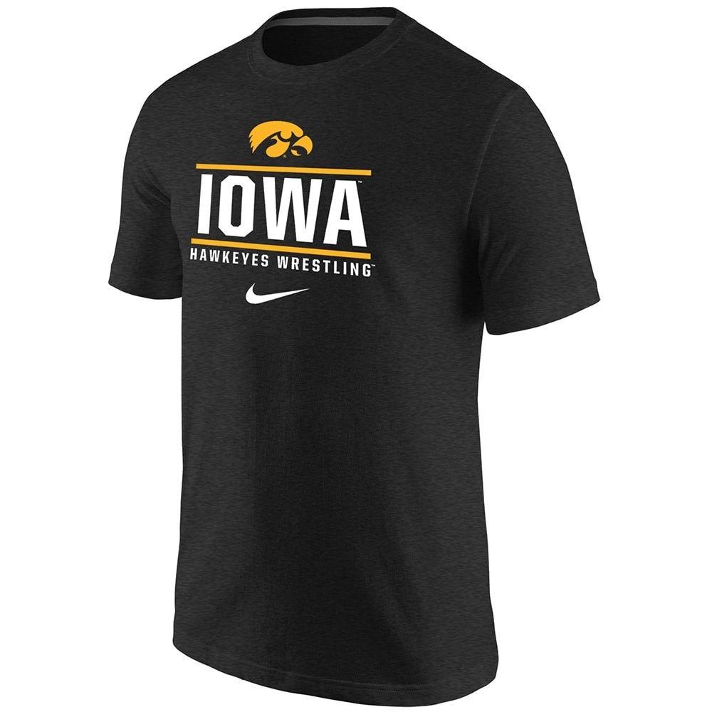 Iowa Hawkeyes Wrestling Nike Triblend T Iowa Hawkeye Wrestling Wrestling Shirts Ncaa Apparel [ 1000 x 1000 Pixel ]