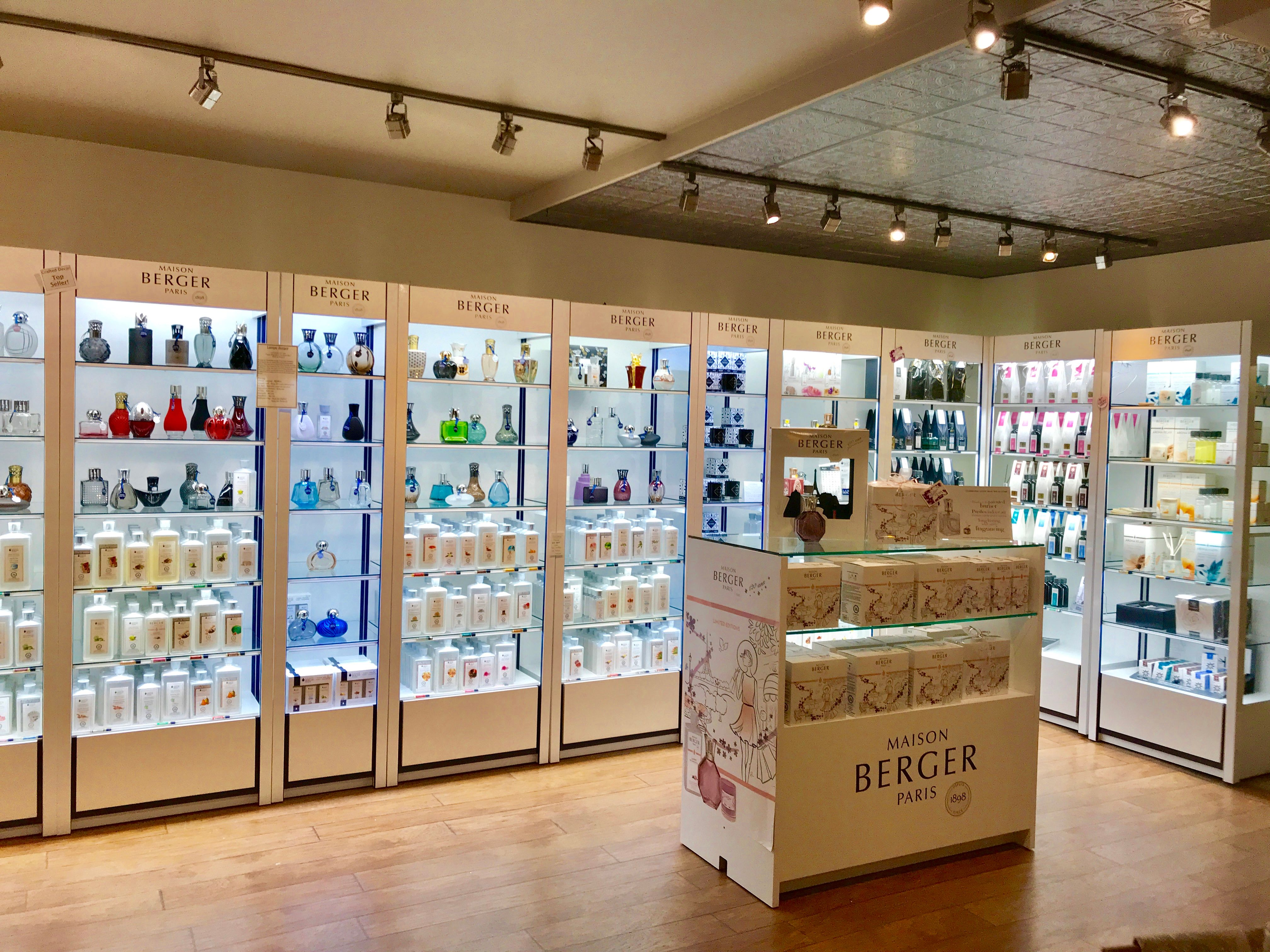 Lampe Berger Celebrated 120 Years In Business With A Name Change Maison Berger To Better Reflect Their Expansion Pharmacy Decor Store Design Interior Decor