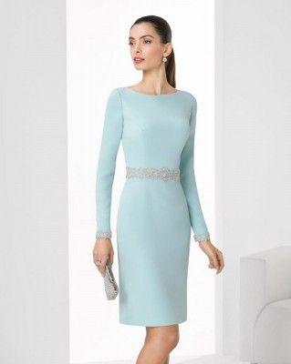Fotos De Vestidos Para Madre De Comunion En Diseños Cortos Vestidos Para Boda Invitada Vestido De Crepé Vestidos De Moda Para Mujer