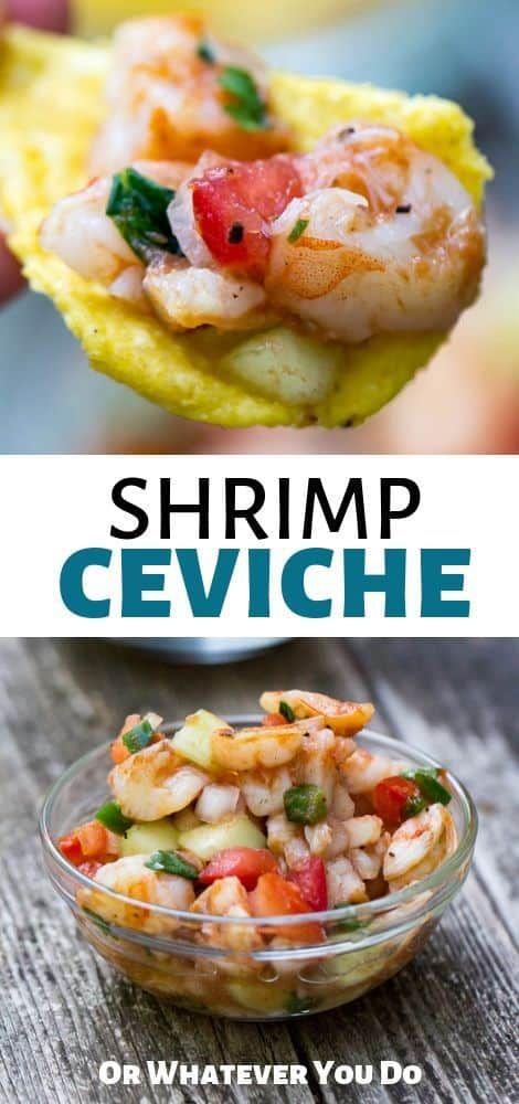 Traeger Grilled Shrimp Ceviche Recipe Ceviche Recipe