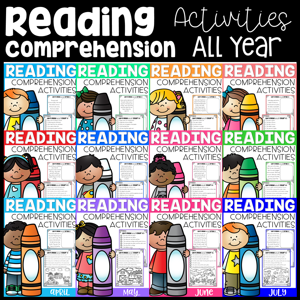 Reading Comprehension Activities The Bundle