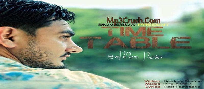 Time Table Kulwinder Billa Download Punjabi Song Mp3 Video