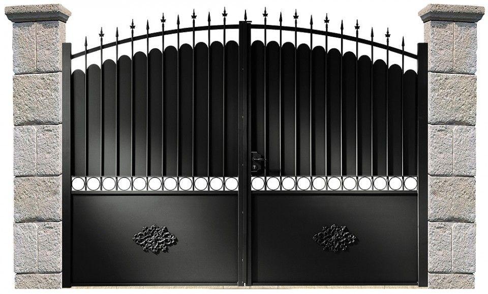 Portail fer recherche google ferme puertas puerta reja et puertas herreria - Portail coulissant avec porte integree ...