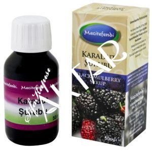 BlackMulberry Syrup... 50 ml. / 10 tl.