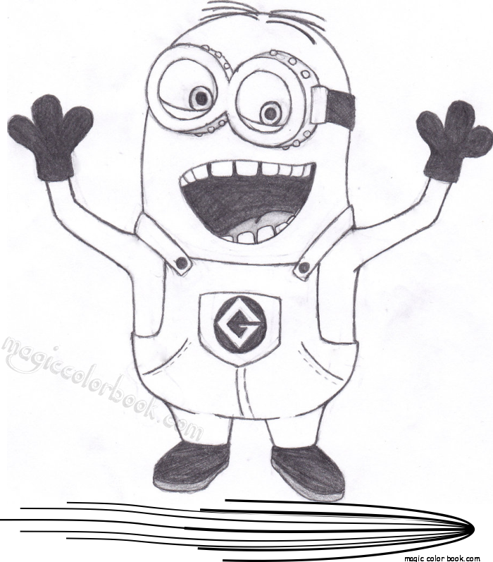 Coloring Book Minions : Pin by magic color book on minions coloring pages free pinterest