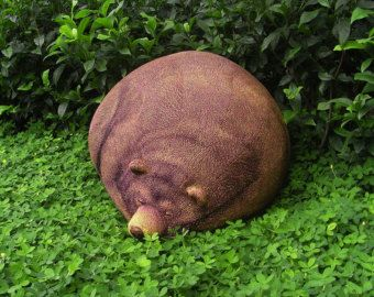 Sleeping Grizzly Cub Beanbag Free shipping by chicsindesigndotcom