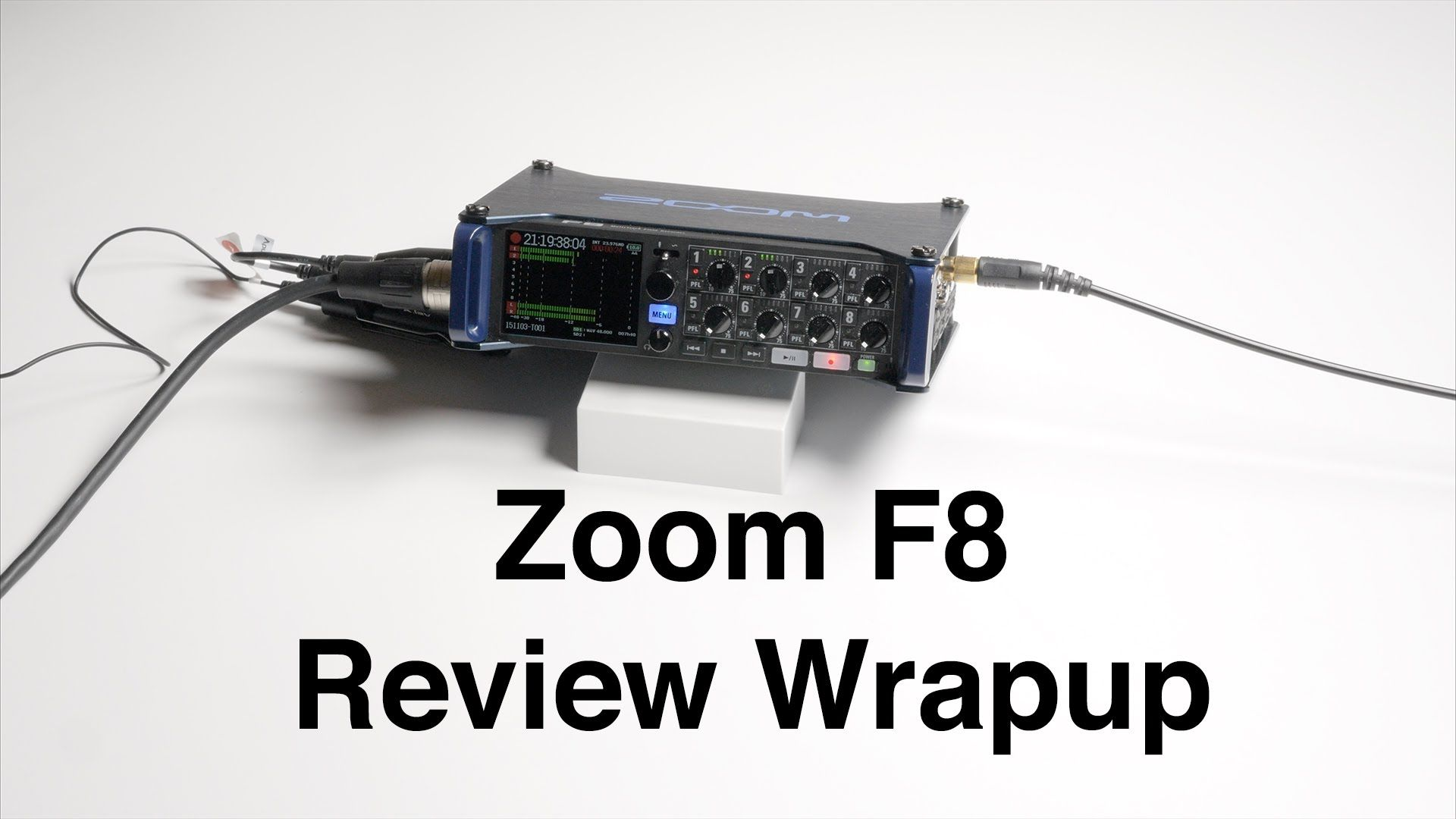 The Zoom F8 is an impressive sound recorder from a company that has been steadily marching up market with more and more impressive audio gear. Zoom populariz...