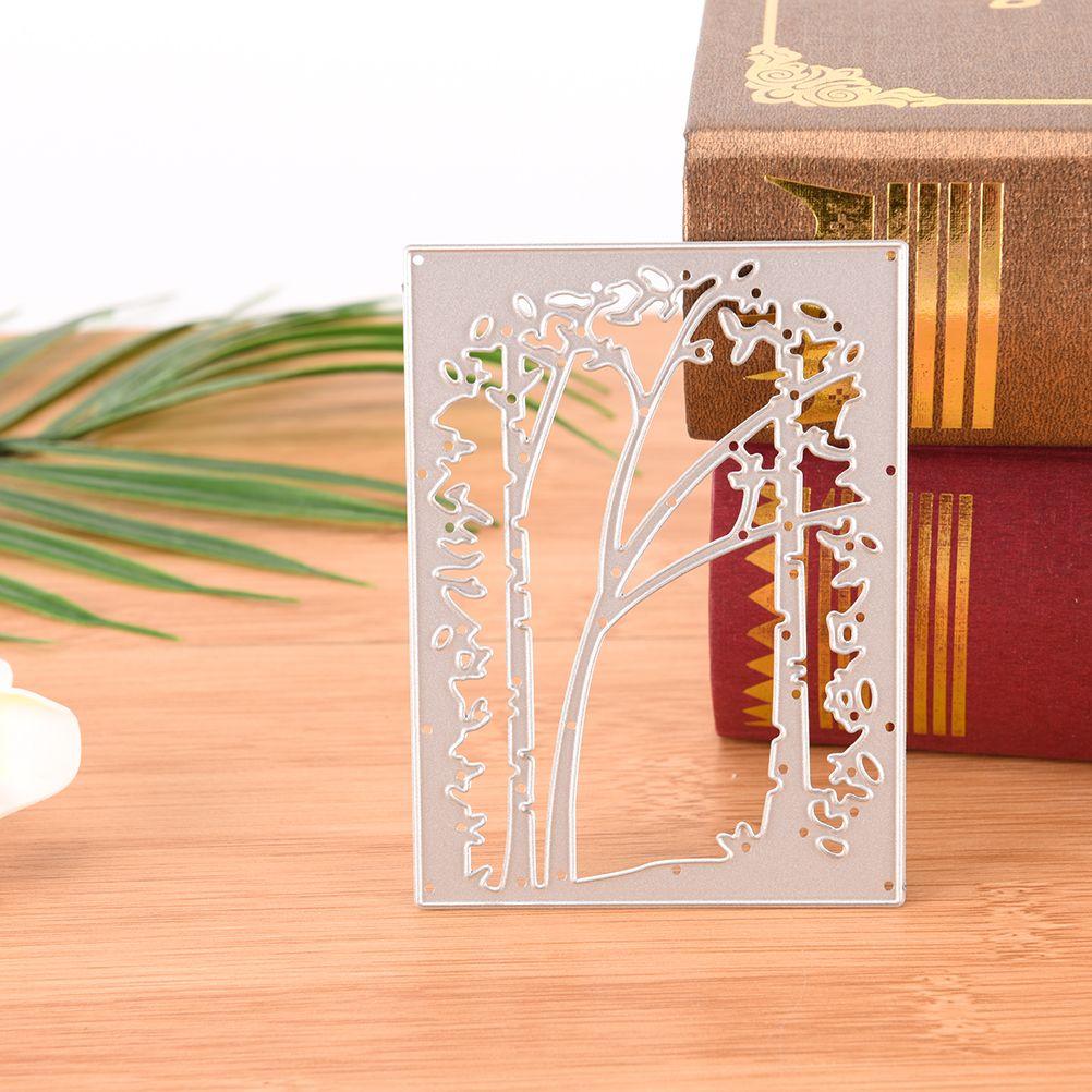Günstige NEUE Rahmen Bäume DIY Scrapbooking Metall Stanzformen ...