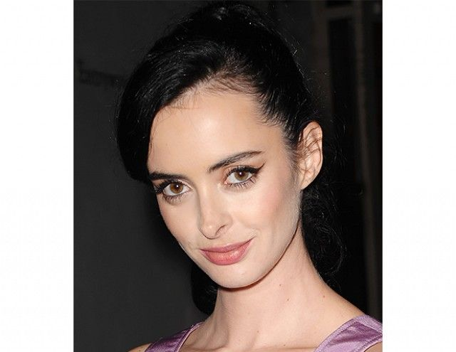 Krysten Ritter attends an art exhibit opening in Santa Ana, California. Makeup artist Amy Nadine Clement used Stila's Convertible Color ($25) in Gerbera on the actress.