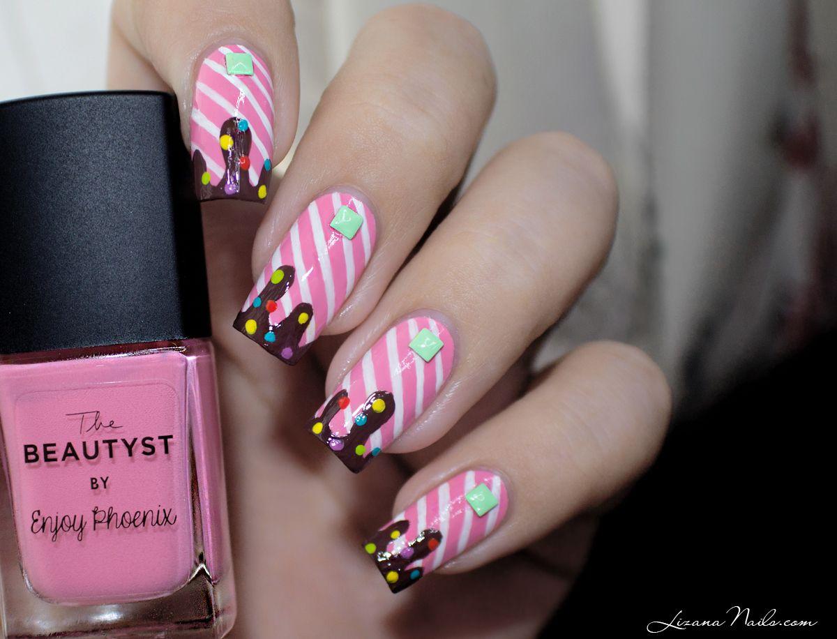 Candy Nail Art / Nailstorming • LizanaNails - Candy Nail Art / Nailstorming • LizanaNails Nail Art Pinterest