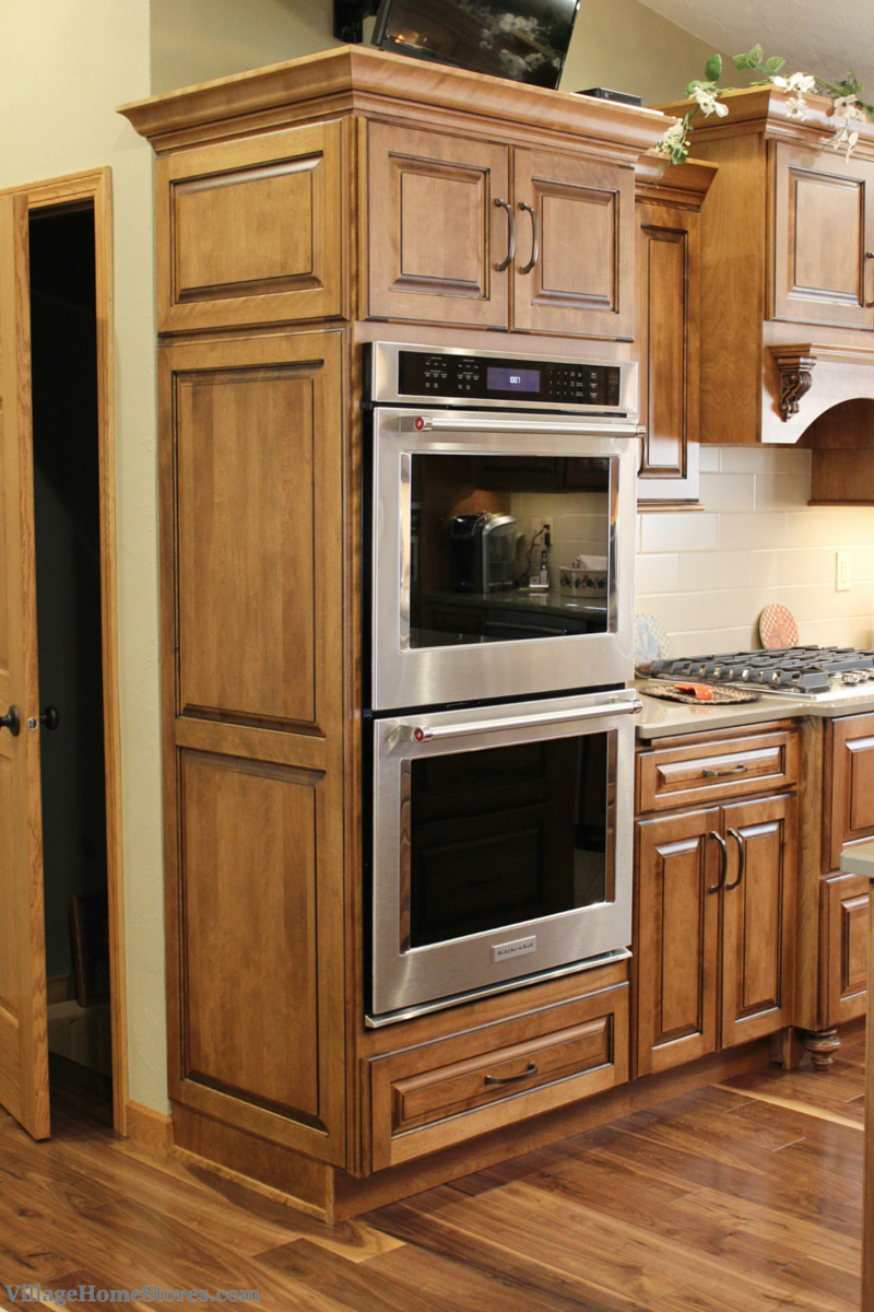 kitchen aid ovens carpenter cabinet kitchenaid double wall with true convection 5 0 cu ft capacity in each oven cavity and the ability to bake 6 racks at once
