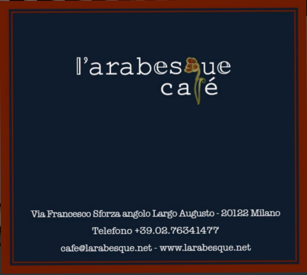 l'arabesque Milano